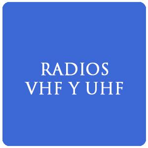 Radios VHF y UHF