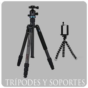 Trípodes y soportes